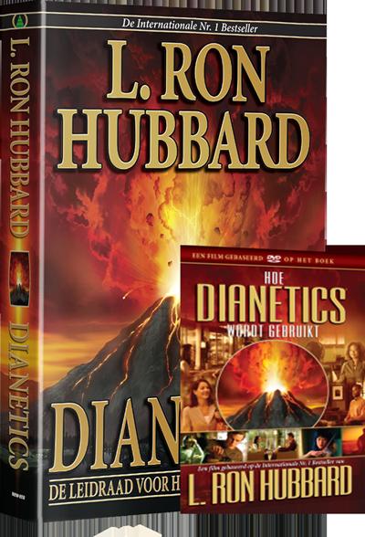 Dianetics boek en Blu-Ray